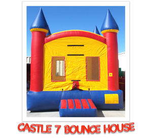 CASTLE #7   BOUNCE HOUSE