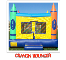 Load image into Gallery viewer, CRAYON BOUNCE HOUSE