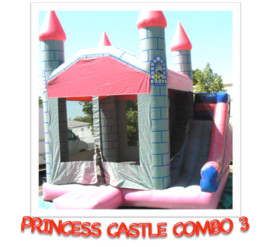 PRINCESS CASTLE COMBO #3   DRY ONLY