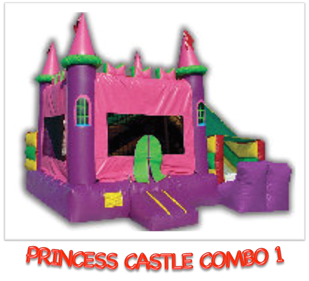 PRINCESS CASTLE COMBO #1    DRY ONLY