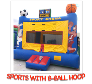 SPORTS WITH B-BALL HOOP BOUNCER