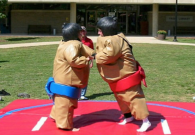 SUMO SUITS INFLATABLE GAME