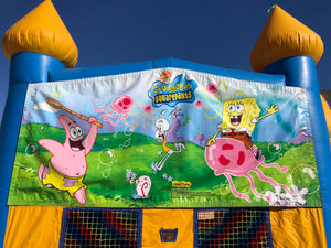 SPONGEBOB BOUNCE HOUSE BANNER