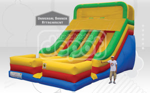 THE DROP INFLATABLE SLIDE  DRY ONLY