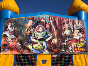 TOY STORY BOUNCE HOUSE BANNER