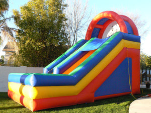 GIANT  DRY FRONT LOAD INFLATABLE SLIDE