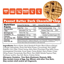 Load image into Gallery viewer, Peanut Butter & Dark Chocolate Chip (Out of Sock) Ship 4/15.