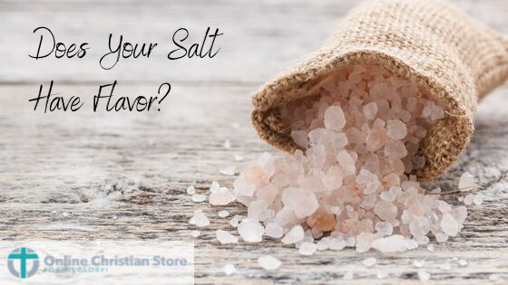 Does Your Salt Have Flavor?
