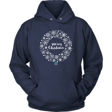Load image into Gallery viewer, Christmas Wreath Hoodie - Online Christian Store