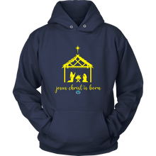 Load image into Gallery viewer, Jesus is Born Hoodie - Online Christian Store