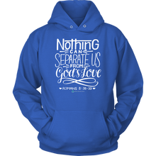 Load image into Gallery viewer, Romans 8:38-39 Hoodie - Online Christian Store
