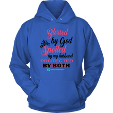 Load image into Gallery viewer, Women's Blessed Spoiled Protected - Online Christian Store