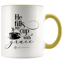 Load image into Gallery viewer, Fills My Cup Mug - Online Christian Store