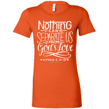 Load image into Gallery viewer, Women's Romans 8:38-39 T-Shirt - Online Christian Store