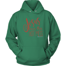 Load image into Gallery viewer, Hot Mess Hoodie - Online Christian Store