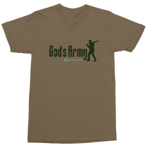 God's Army Shirt - Online Christian Store