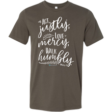 Load image into Gallery viewer, Men's Micah 6:8 Shirt - Online Christian Store