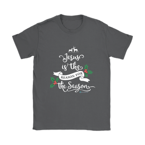 Women's Jesus is the Reason T-Shirt - Online Christian Store