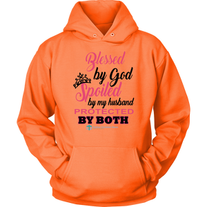 Women's Blessed Spoiled Protected - Online Christian Store