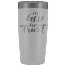 Load image into Gallery viewer, 20oz In God We Trust Tumbler - Online Christian Store