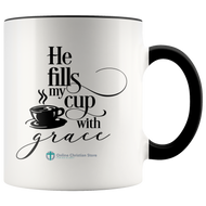 Fills My Cup Mug - Online Christian Store