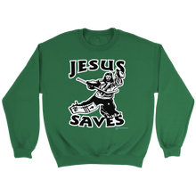 Load image into Gallery viewer, Jesus Saves Sweatshirt - Online Christian Store