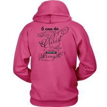 Load image into Gallery viewer, Philippians 4:13 Hoodie - Online Christian Store