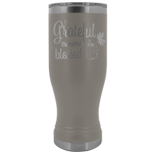 Load image into Gallery viewer, Grateful Thankful Blessed Tumbler - Online Christian Store