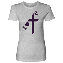 "Load image into Gallery viewer, Women's ""Love"" T-Shirt - Online Christian Store"