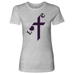 "Women's ""Love"" T-Shirt - Online Christian Store"