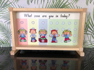 Tree Stand - Zones of Regulation Attendance Register