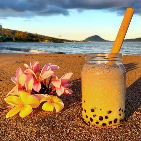 Shaka Strawaii Bubble Tea