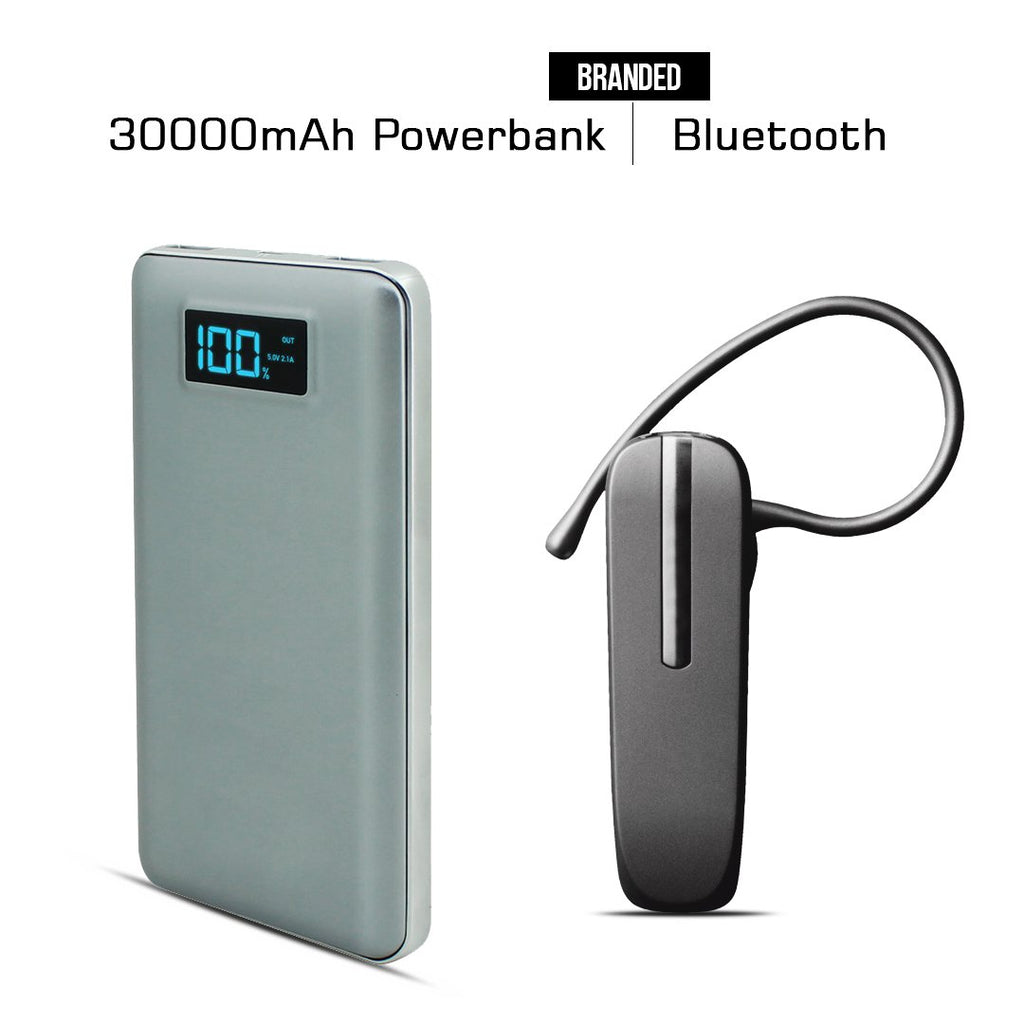 30000mAH Branded Power Bank And Bluetooth Free