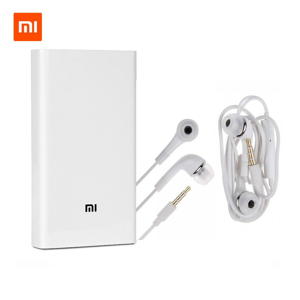 Buy Online MI Plus 20800mAh Power Bank & Get Earphone Headset Free