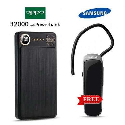 32000mAh power bank with free Bluetooth