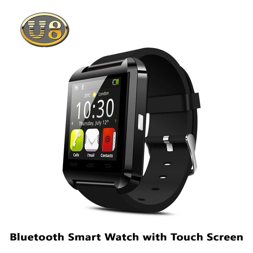 U8 Bluetooth Smart Watch with Touch Screen