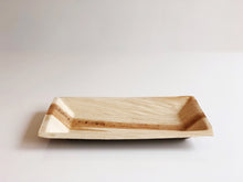 Large Cuadra 16x25cm palm leaf rectangular compostable plate