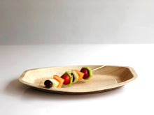 Small 30cm palm leaf dinner platter