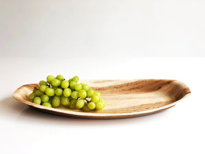 Large 43cm palm leaf dinner platter