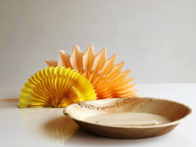 palm leaf disposable dinner plate 24cm