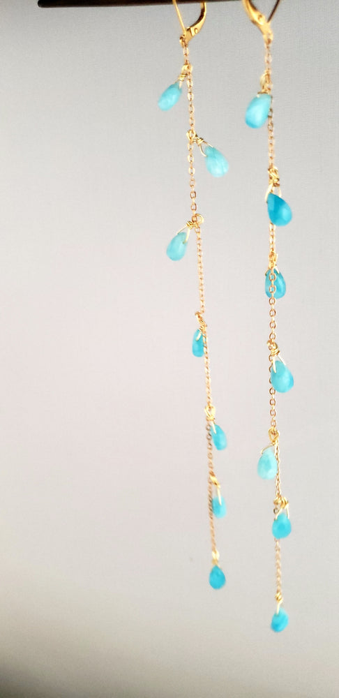 Turquoise Ear Strings