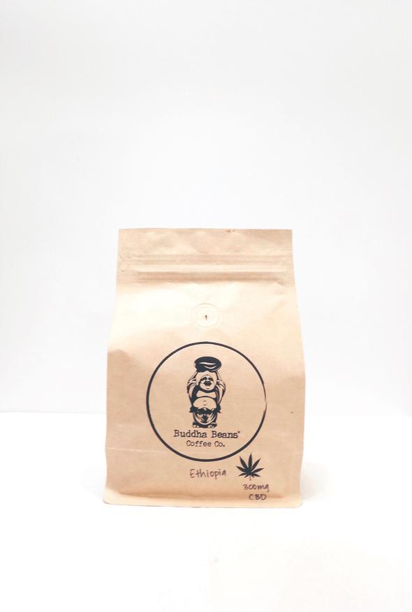 Buddha Beans CBD Coffee - Ethiopia Infused Coffee Beans