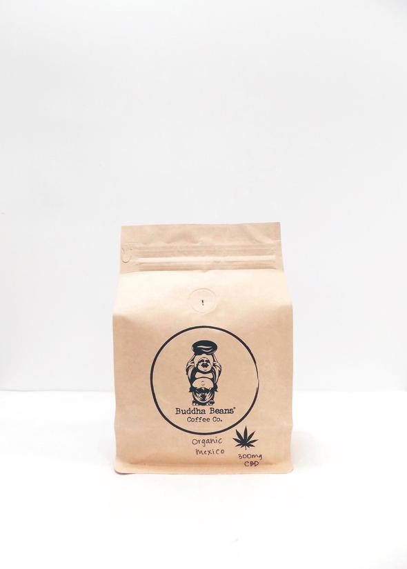 Buddha Beans CBD Coffee - Organic Mexico Infused Coffee Beans