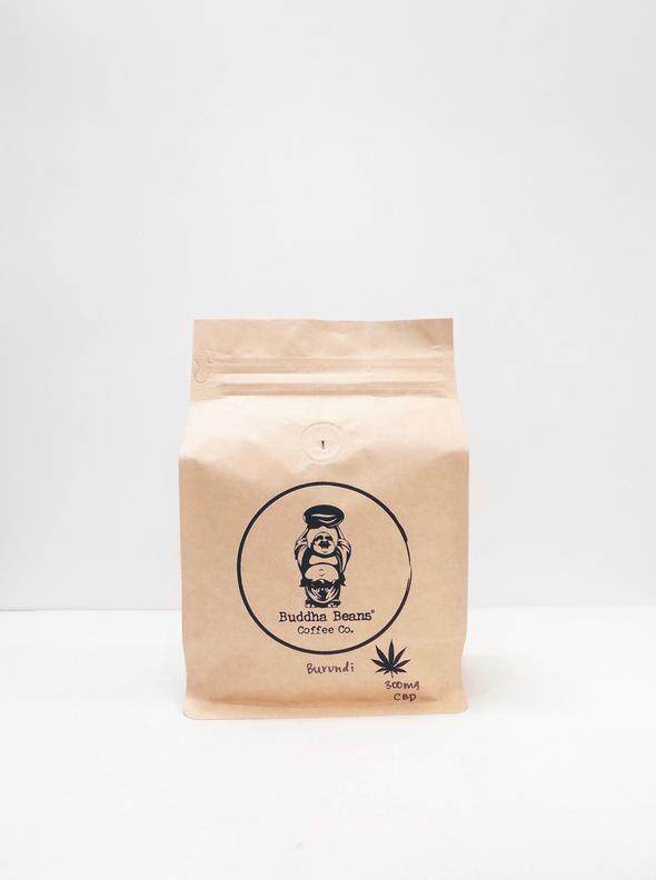 Buddha Beans CBD Coffee - Burundi Infused Coffee Beans