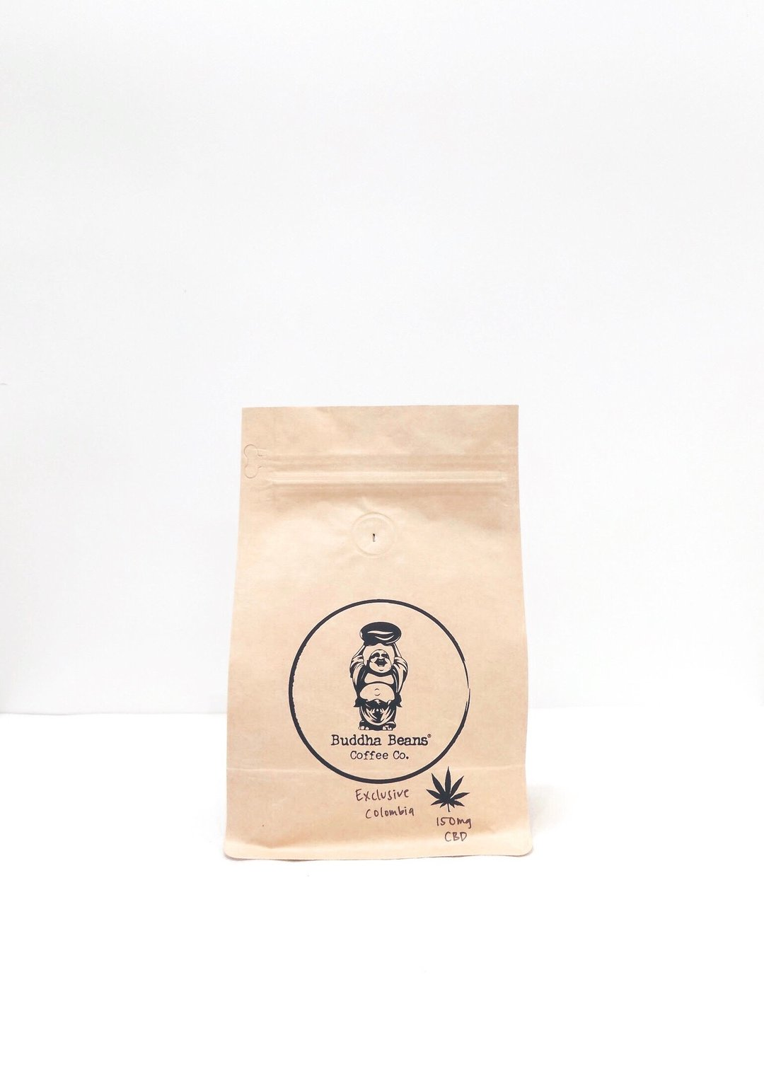 Buddha Beans CBD Coffee - Exclusive Colombia Infused Coffee Beans