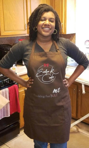 LIMITED EDITION Cooking For ME Kitchen Apron with Pockets Evelyn R. Cooke - The #EvCooks Store
