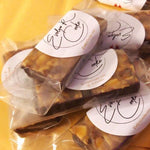SAMPLES! Signature Almond Caramel Squares Evelyn R. Cooke - The #EvCooks Store