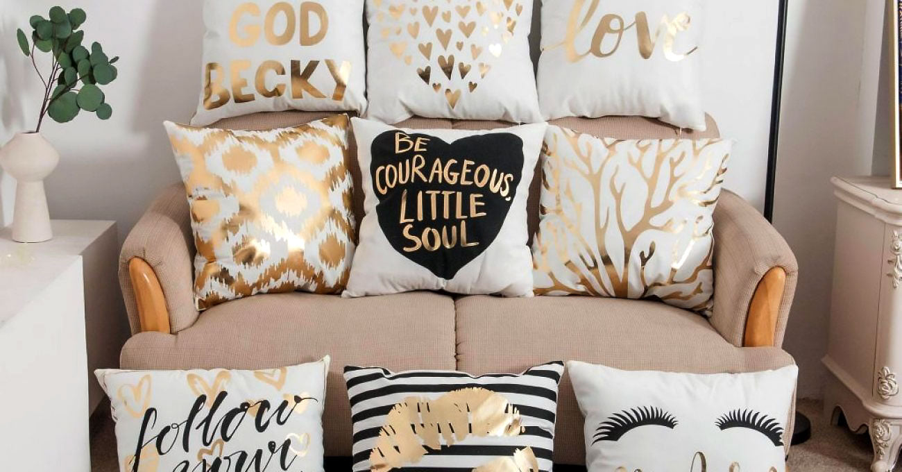 Fleurs Avenue Stay Courage Little One Cushion Cover