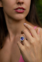 Load image into Gallery viewer, Tanzanite Cocktail Ring