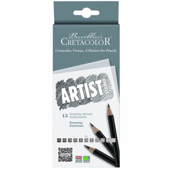 Cretacolor Artist Studio Graphite Pencils